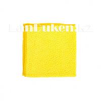 Салфетка универсальная для уборки, желтая из микрофибры 30х30 см ELFE 92303 (002)