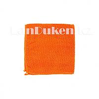 Салфетка универсальная для уборки, оранжевая из микрофибры 30х30 см ELFE 92301 (002)
