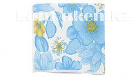 Салфетка для уборки синяя с рисунком, из микрофибры 30х30 см ELFE 92306 (002)