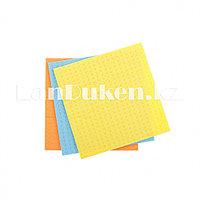 Салфетка для уборки целлюлозные, 180х150 мм 3 шт ELFE 92322 (002)