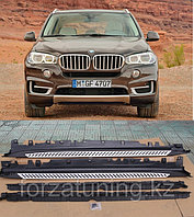 Подножки \ пороги на BMW X5 F15, фото 1