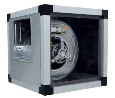 Канальный вентилятор VORT QBK SAL 9/9 4M 3V