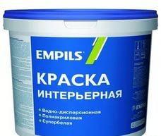 Краска итнерьерная латексная EMPILS 13 кг