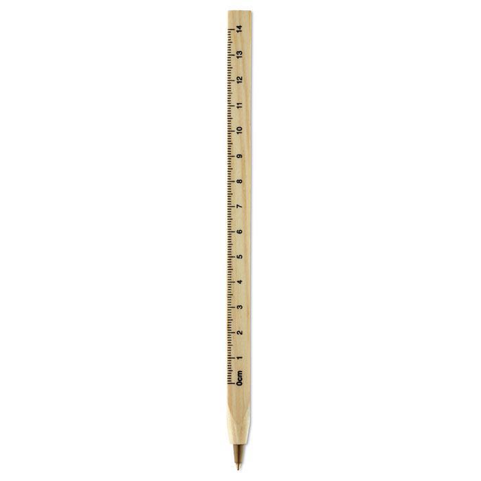Деревянная ручка-роллер