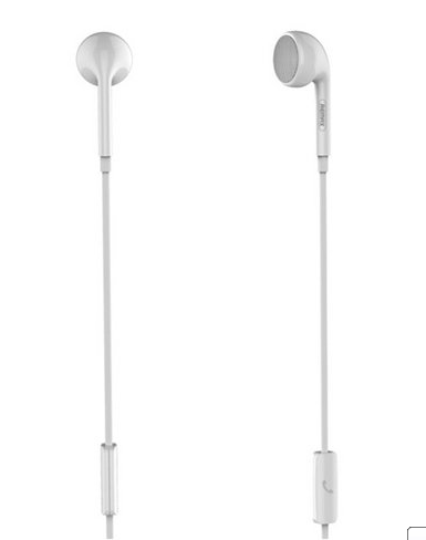 Наушники REMAX Single Earphone RM-101 (белые)