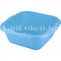 Таз квадратный пластмассовый 12л голубой ELFE 92985 (002)