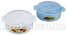 Посуда для микроволновой печи СВЧ 1,2 литров 85200 (003)
