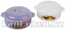 Посуда для микроволновой печи СВЧ 2,1 литров 85200 (003)