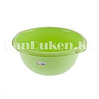 Таз круглый пластмассовый 16л зеленый ELFE 92983 (002)