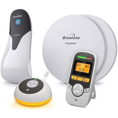 Радионяня Motorola MBP161 с монитором дыхания Timer and Binatone BabySense 5