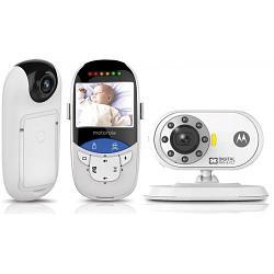 """Видеоняня Motorola MBP27T с диагональю экрана 2,4"""" c сенсорным термометром"""