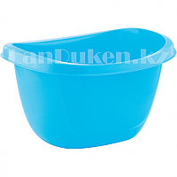 Таз овальный пластмассовый 16л голубой ELFE 92988 (002)