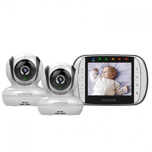 Видеоняняя Motorola MBP36S-2 цифровая беспроводная 2 камеры в комплекте