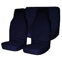 Грязезащитные чехлы на сиденья (синие), Tplus