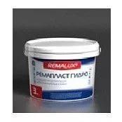 Водоэмульсионная фасадная краска REMALUX Ремапласт 3 кг