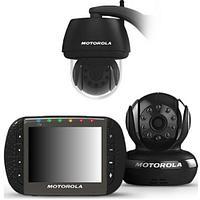 Видеоняня Motorola SCOUT1500 с диагональю экрана 3,5 с уличной камерой