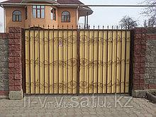 Кованые ворота + калитка