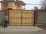 Кованые ворота + калитка, фото 3