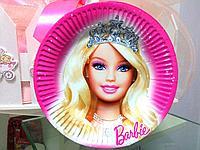 """Одноразовая посуда для дня рождения """"Barbie"""""""