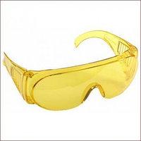 Очки STAYER «STANDARD» защитные, поликарбонатная монолинза с боковой вентиляцией, желтые