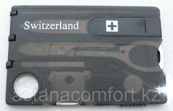 Многофункциональный нож - визитная карточка «Swizerland»