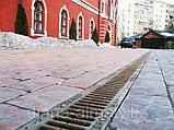 Решётка на канал чугунная белая ячеистая , длина 500мм, высота14мм, ширина136мм , фото 2