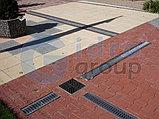 Решётка на канал чугунная белая ячеистая , длина 500мм, высота14мм, ширина136мм , фото 4