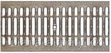 Решётка на канал оцинкованная штампованная стальная, длина -1000 мм, высота 20 мм, ширина 236 мм