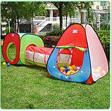 Игровая Палатка домик с тоннелем, фото 3