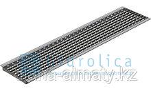 Решётка водоприёмная ячеистая стальная оцинкованная 1000×236×33