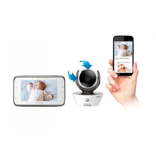 """Видеоняня Motorola MBP854 Connect с диагональю экрана 4,3"""""""