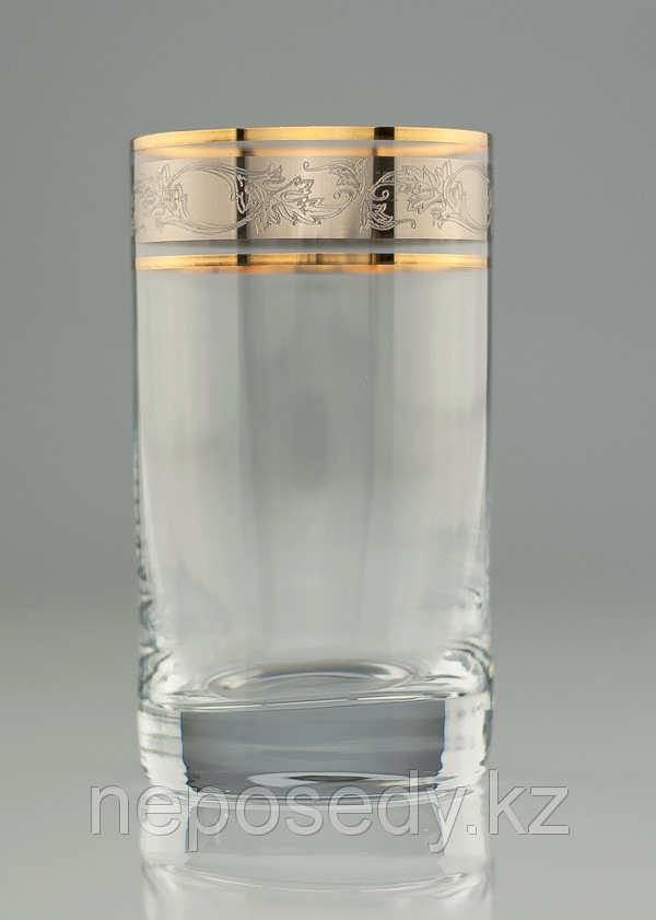 Стакан Barline 230мл вода 6шт. богемское стекло, Чехия 25089-437683-230. Алматы