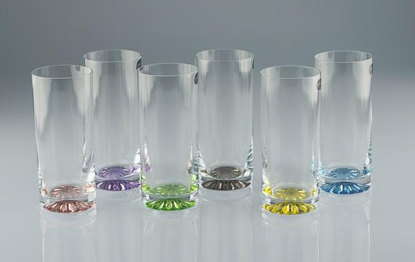 Стакан Barline 300мл вода 6шт. богемское стекло, Чехия 25089-300-138-d4681. Алматы