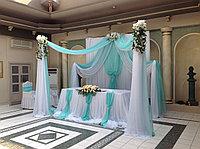 Свадебное оформление в бирюзовом цвете, фото 1
