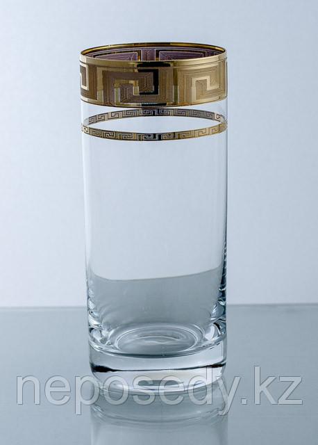 Стакан Barline 300мл вода 6шт. богемское стекло, Чехия 511/44/6 voda b.ks.pr.zl. Алматы