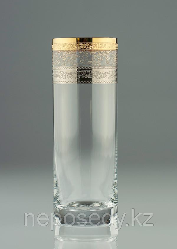 Стакан Barline 340мл вода 6шт. богемское стекло, Чехия 25089-porcelan-340 HB. Алматы