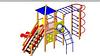 Детский Игровой комплекс для улицы Размеры 5700х4770х3510мм