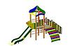 Детский Игровой комплекс для улицы Размеры 5310х2550х3900мм