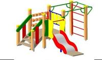 Детский Игровой комплекс для улицы Размеры 2940х2640х1500мм