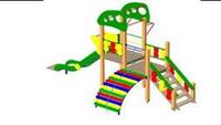 Детский Игровой комплекс для улицы Размеры 5600х2700х3700мм