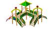 Детский Игровой комплекс для улицы Размеры5970х4855х4215мм