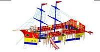 Детский Игровой комплекс для улицы Размеры 16830х10800х9750мм