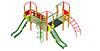 Детский Игровой комплекс для улицы Размеры 5745х5745х3705мм