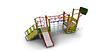 Детский Игровой комплекс для улицы Размеры5710х4470х3255мм