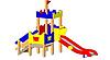 Детский Игровой комплекс для улицы Размеры 3385х1555х3155мм