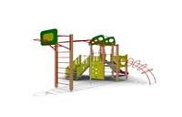 Детский Игровой комплекс для улицы Размеры 7475х5715х3635мм