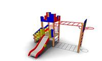 Детский Игровой комплекс для улицы Размеры 4325х2885х2850мм