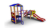 Детский Игровой комплекс для улицы Размеры 3675х3700х2900мм