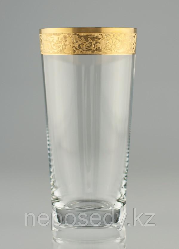 Стакан HB 400мл вода 6шт. богемское стекло, Чехия HB-minus-400. Алматы
