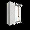 Шкаф навесной Техно 600 мм зеркало, 1 дверь